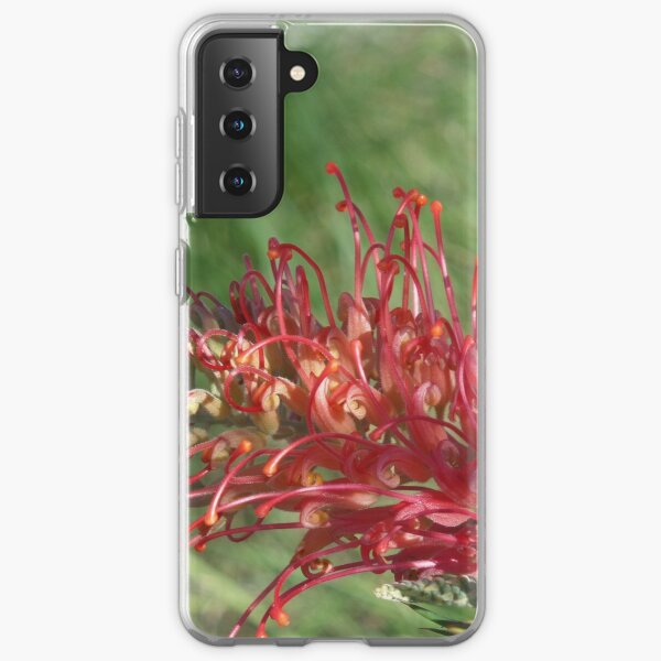 Red Blooms Los Angeles Samsung Galaxy Soft Case
