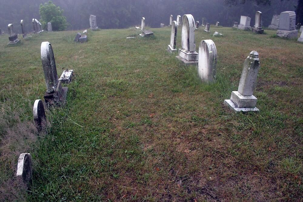 A Cemetery In New Salem by Cora Wandel