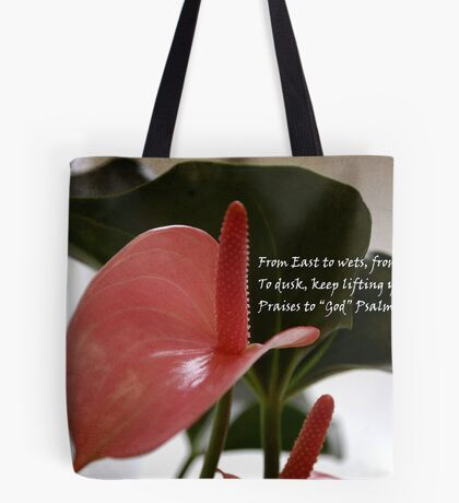 CLOSER TO GOD Tote Bag