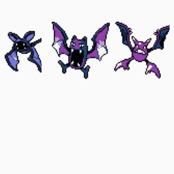 Zubat evolution (Gen 2) by kyokenbyo