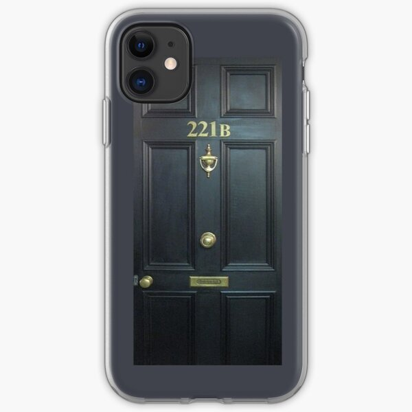 221b Baker St. iPhone Soft Case