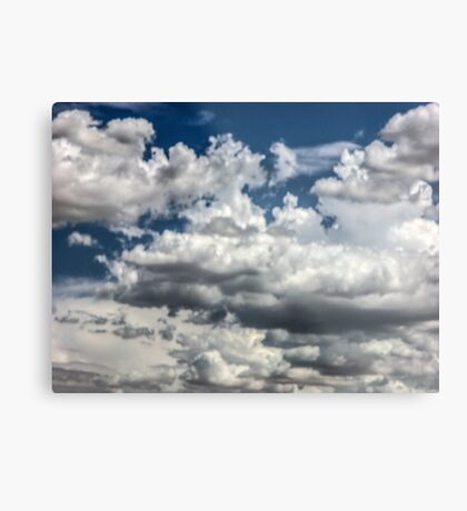 Clouds on the road to Tucson Metal Print