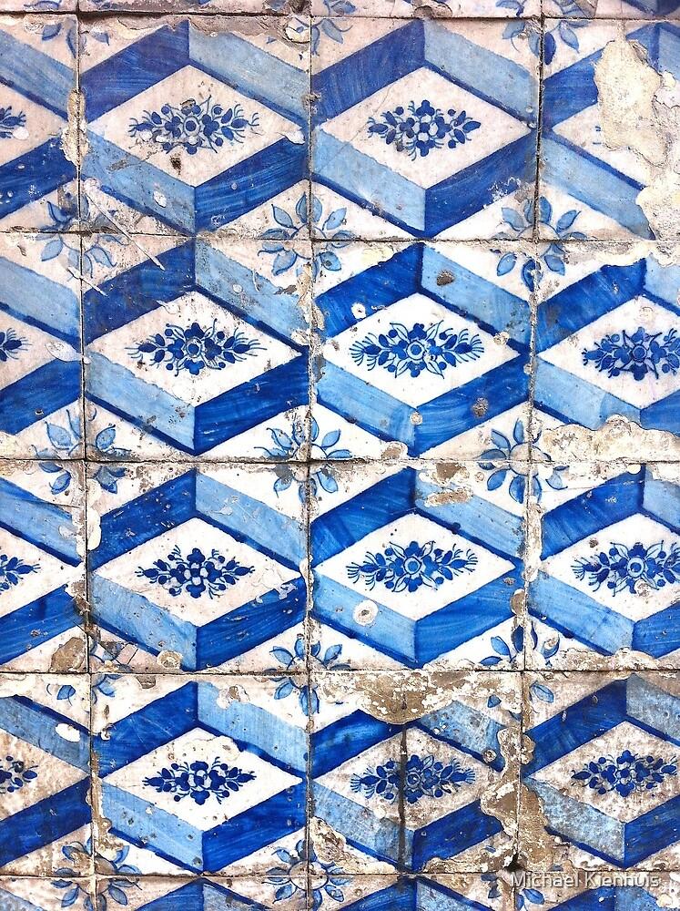 Portugal Tile Number Twenty Six by Michael Kienhuis