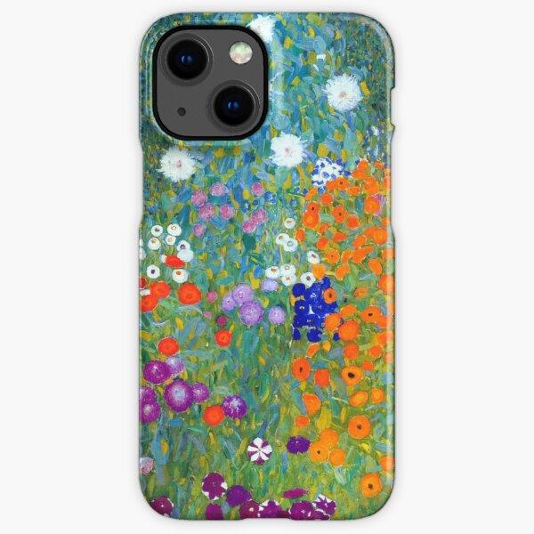 Gustav Klimt Flower Garden iPhone Snap Case