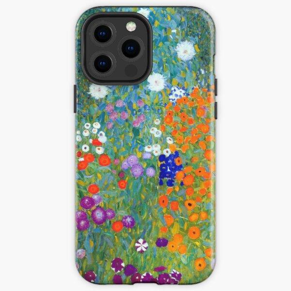 Gustav Klimt Flower Garden iPhone Tough Case
