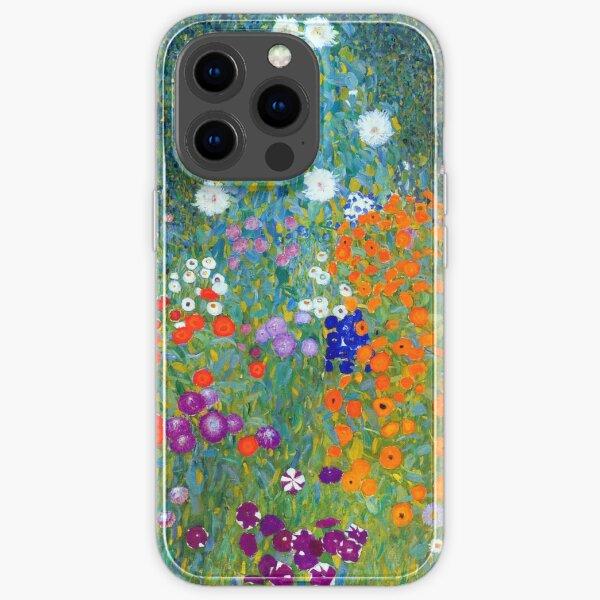 Gustav Klimt Flower Garden iPhone Soft Case