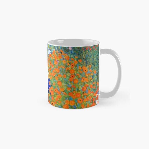 Gustav Klimt Flower Garden Classic Mug