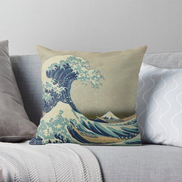 La grande vague au large de Kanagawa Coussin