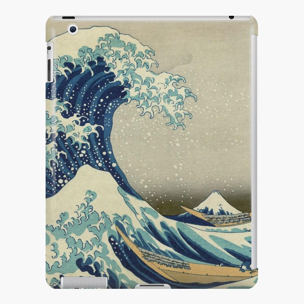 The Great Wave off Kanagawa iPad Case & Skin