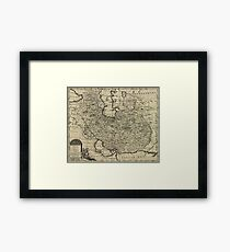 Persia Ancient Map 1747 Framed Print