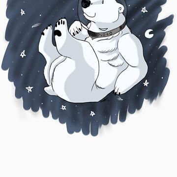 Space Bear in Space! by idawgness