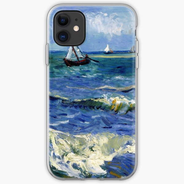 Vincent van Gogh Seascape near Les Saintes-Maries-de-la-Mer iPhone Soft Case