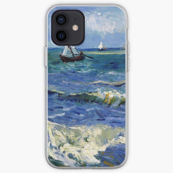Vincent van Gogh Seascape near Les Saintes-Maries-de-la-Mer iPhone Soft Case