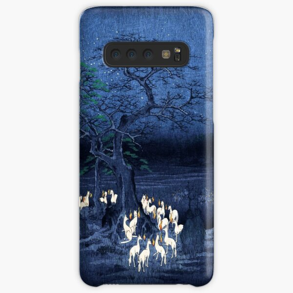 Hiroshige New Year's Eve Foxfires at the Changing Tree, Oji Samsung Galaxy Snap Case