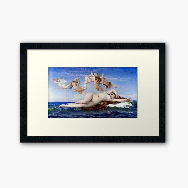Alexandre Cabanel The Birth of Venus Framed Art Print