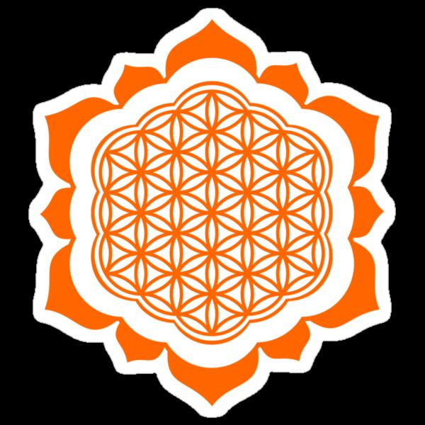 Flower of life - Lotus Flower  sacred geometry  Metatrons cube by