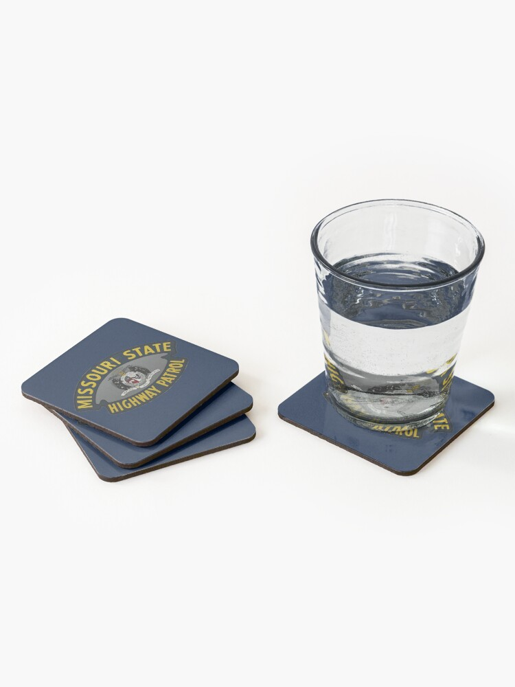 Alternate view of Missouri State Highway Patrol  Coasters (Set of 4)
