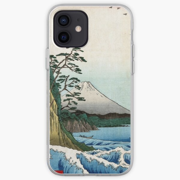 Utagawa Hiroshige The Sea at Satta in Suruga Province iPhone Soft Case
