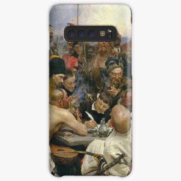 Ilya Repin Reply of the Zaporozhian Cossacks Samsung Galaxy Snap Case