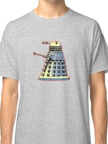 Vintage Look Doctor Who Dalek Graphic Classic T-Shirt