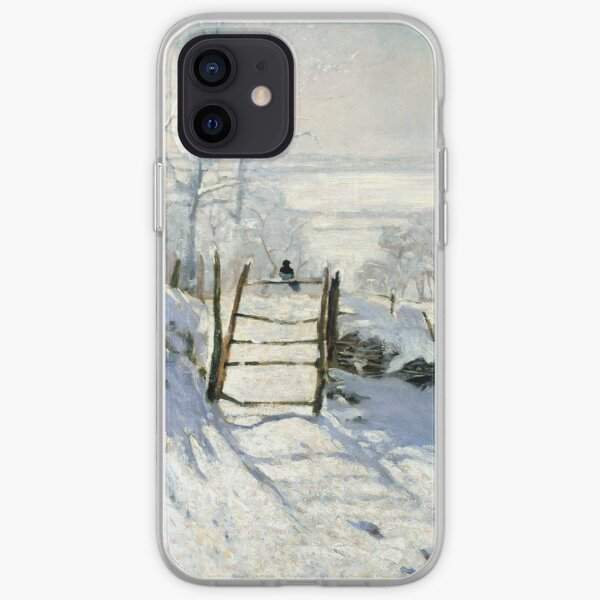 Claude Monet The Magpie iPhone Soft Case