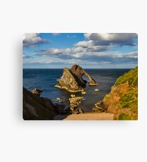 PORTKNOCKIE - BOW FIDDLE FROM HIGH ON A SUMMERS DAY Canvas Print