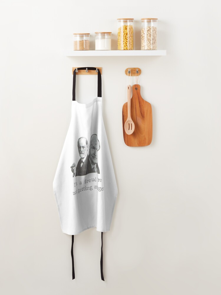 Alternate view of I'm A Freud You're Not Getting Any Junger Apron
