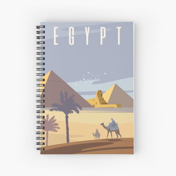 Ancient Egyptian Pyramids Spiral Notebook