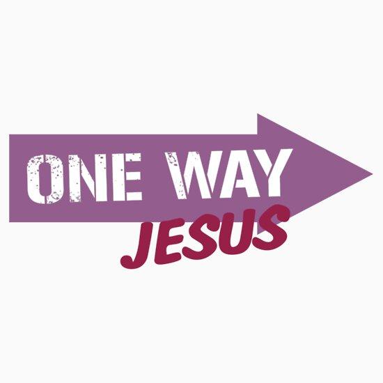 jesus one way - photo #10