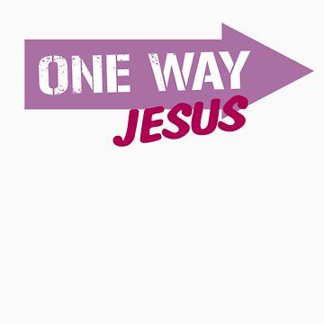 One Way Jesus  by fealtees