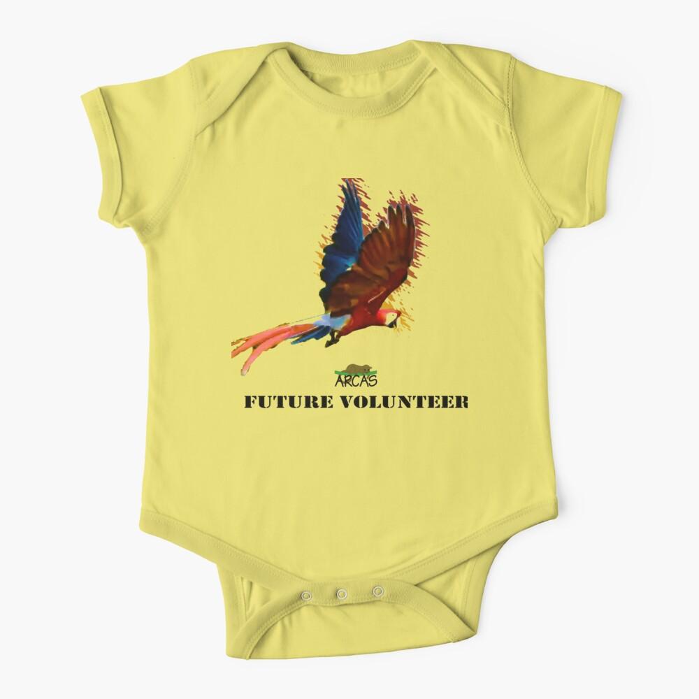 Future volunteer: macaw Baby One-Piece