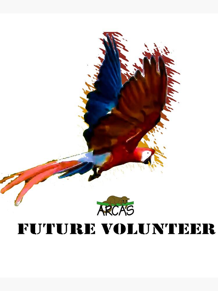 Future volunteer: macaw by ARCASrescate