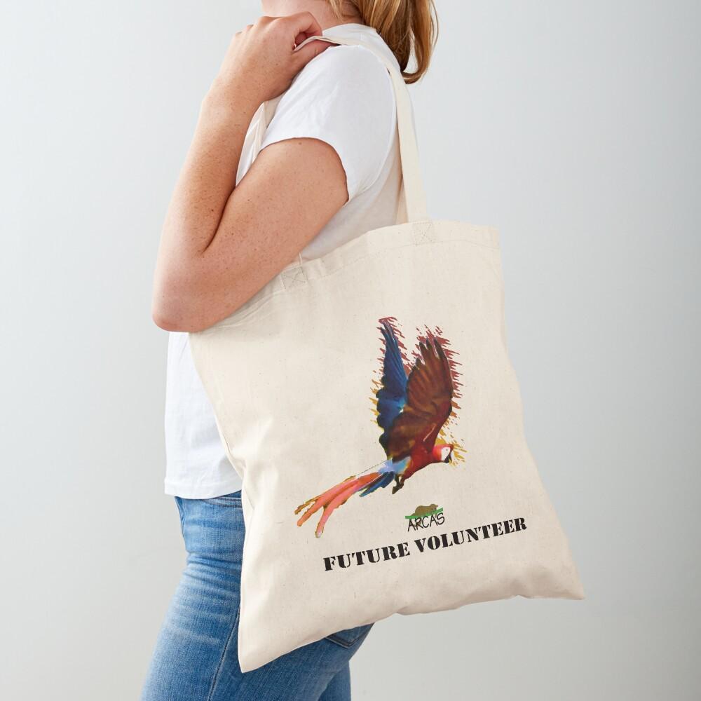 Future volunteer: macaw Tote Bag