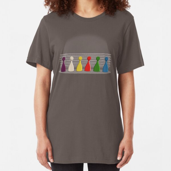 Cluedo Usual Suspects Slim Fit T-Shirt