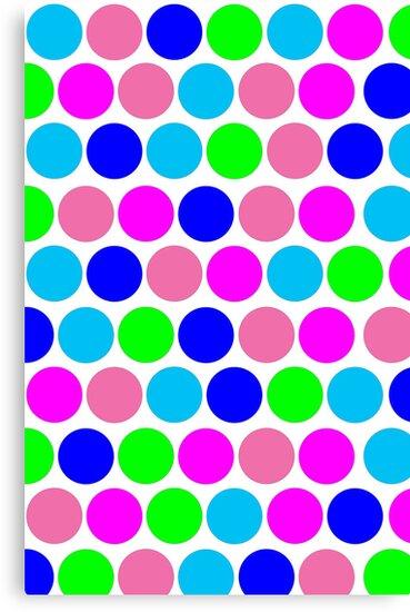 Polka dot, Colors set 4 by sebmcnulty