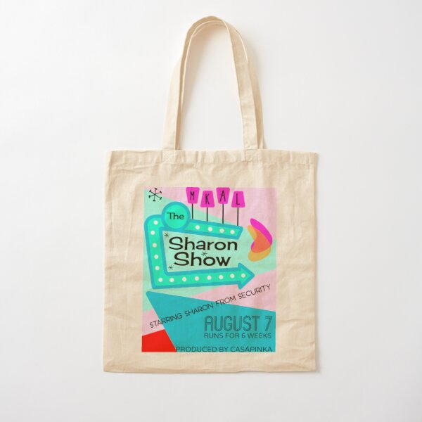 The Sharon Show 1 Cotton Tote Bag