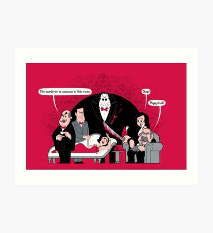 Murder Mystery Art Print