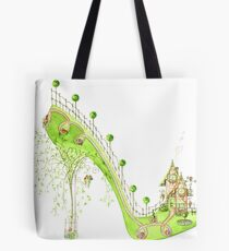 Walk Home Tote Bag
