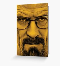 """Breaking Bad - Walter White (Bryan Cranston) """"The One Who Knocks"""" Greeting Card"""
