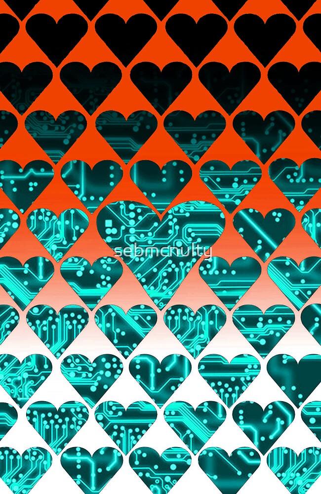 love circuit, cyan by sebmcnulty