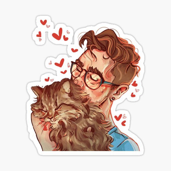 Jack and BB Sticker