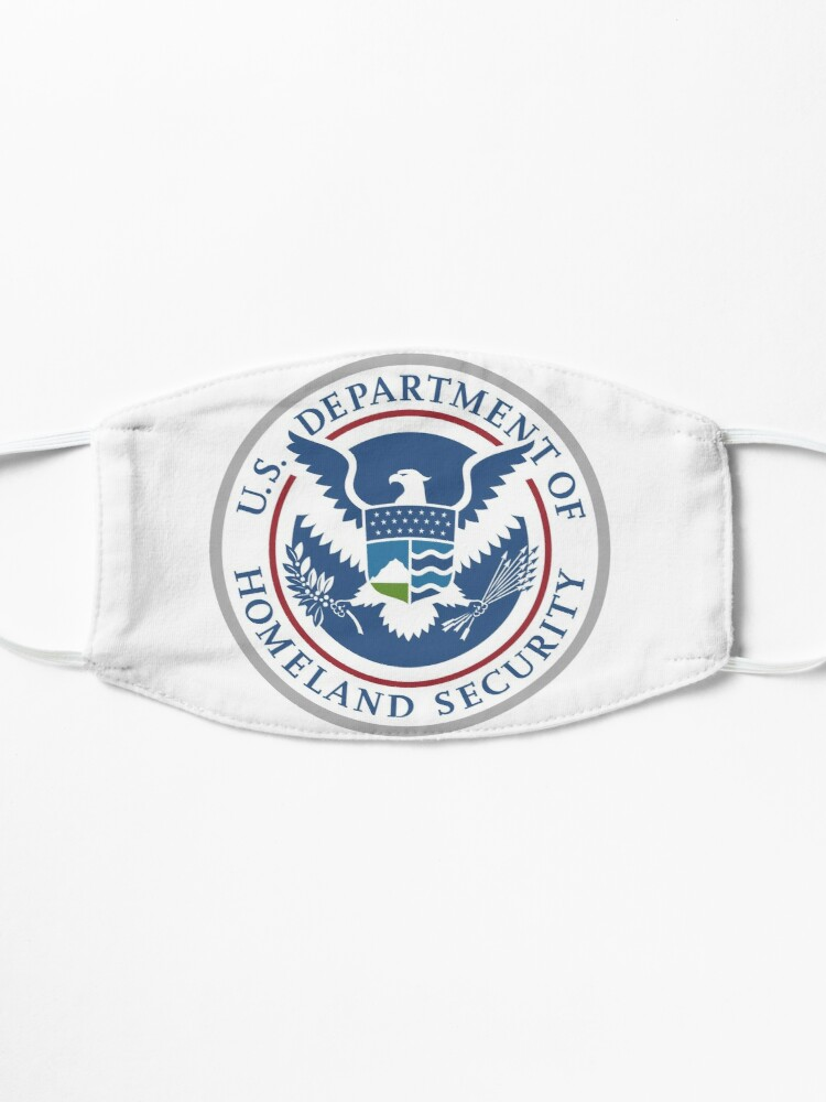 Alternate view of United States Department of Homeland Security, Government department Mask