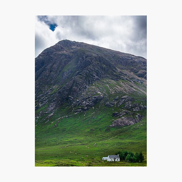 House by the Mountain Photographic Print