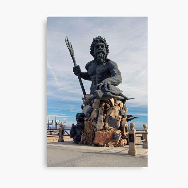 King Neptune, Virginia Beach, Virginia, USA Canvas Print
