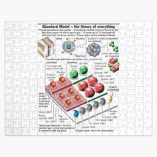 Physics Standard Model Theory  Jigsaw Puzzle