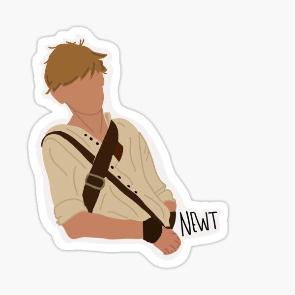 Newt The maze runner  Sticker