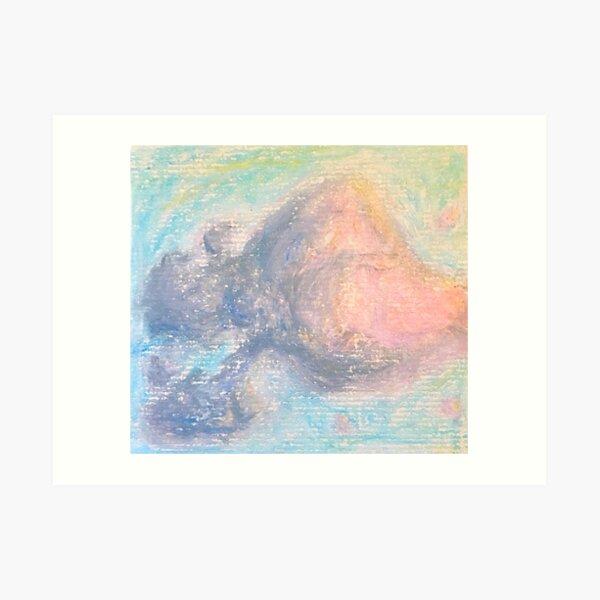 Cray-Pas Clouds at Sunset Art Print