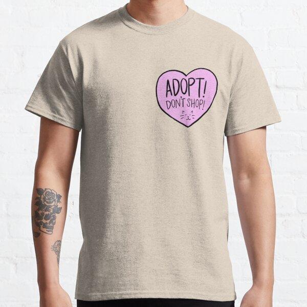 Copy of Adopt Don't Shop Heart - Cats Classic T-Shirt