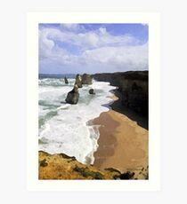 The Twelve Apostles Australia Art Print