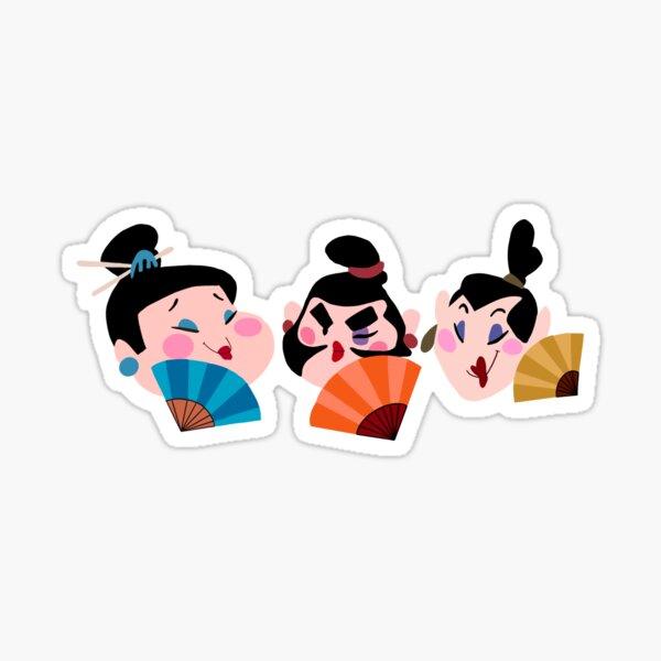 Une fille qui vaut la peine de se battre Sticker